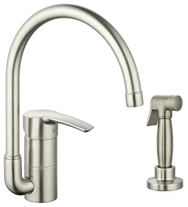 Grohe 33 980 EN1 Eurostyle Kitchen Faucet with Hose and