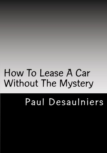 How To Lease A Car Without The Mystery