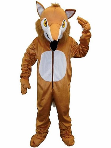 Unisex Adult Fox Mascot Costume