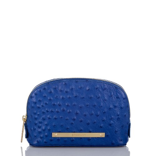 Tina Cosmetic Bag<br>Electric Blue Normandy
