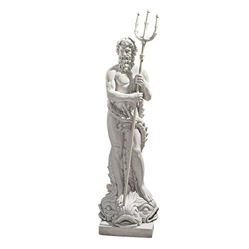 Design Toscano Gott des Meeres Poseidon Große Skulptur