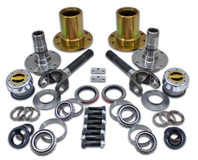 Spin Free Locking Hub Conversion Kit for Dana 30 TJ, XJ, YJ, 27 Spline, 5 x 4.5