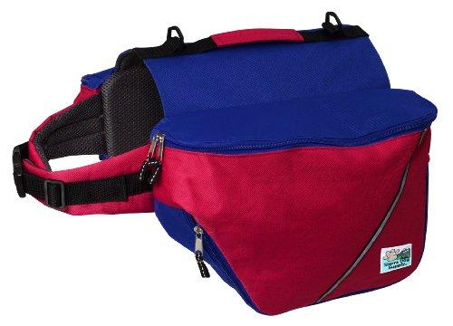 Artikelbild: Doggles Hunde Rucksack, XXS, rot/blau