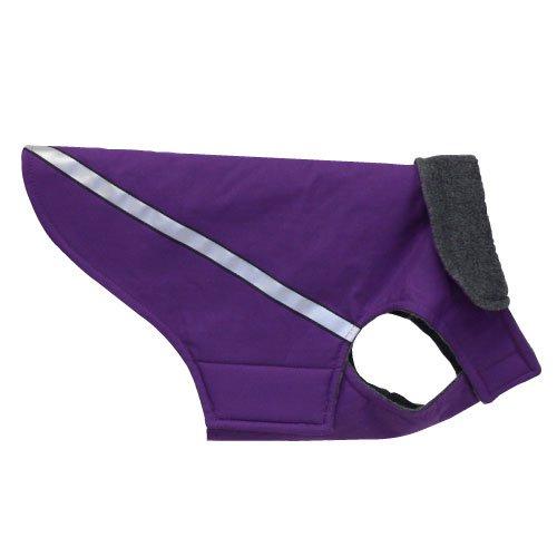 RC Pet Products West Coast Rain Wear Dog Coat, Size 6, Purple