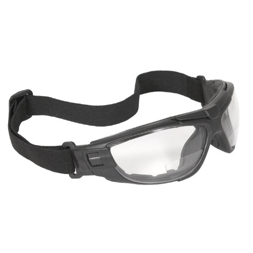 26b0505f1c Radians Ctb1-120 Radians Cuatro Bi-Focal 4-In-1 Foam Lined Safety Eyewear  With Clear Anti-Fog Lens Features