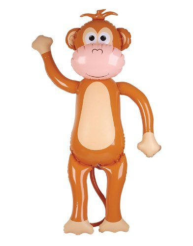 HUGE Inflatable Monkey - Over 5 Feet Tall! - 1