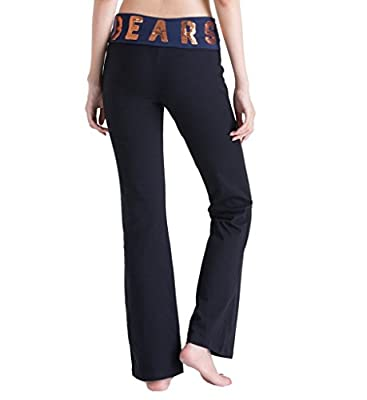 Women's Pink Victoria's Secret NFL Chicago Bears Yoga Pants