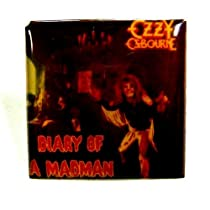 "Ozzy Ozbourne~ Ozzy Ozbourne Button~ ""Diary Of A Madman""~ Black Sabbath~ Rare Authentic Vintage Button!!"
