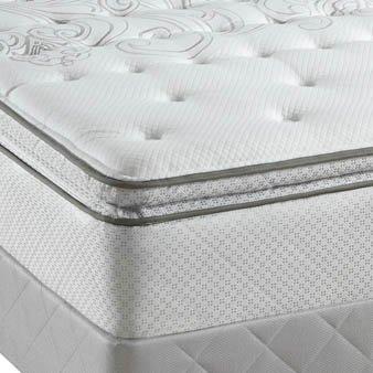 Cal King Sealy Posturepedic Classic Santa Paula Plush Euro Pillow