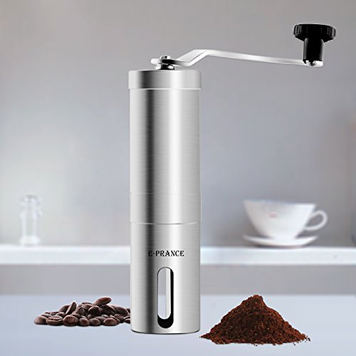 E-PRANCE® 手挽きコーヒーミル セラミック ステンレス コーヒーミル手動