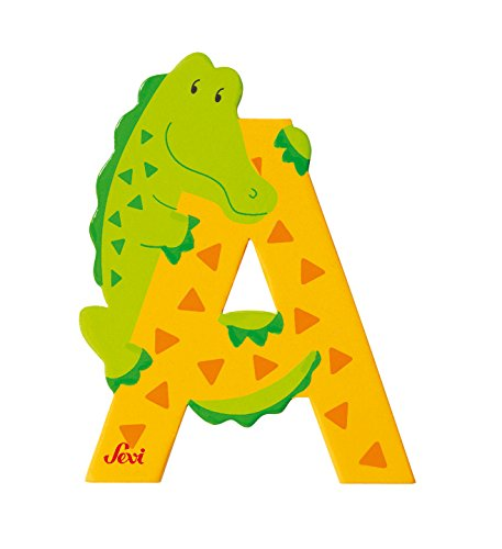 SEVI 1831 - Graffiti Animals - Alligator Letter A (81601)