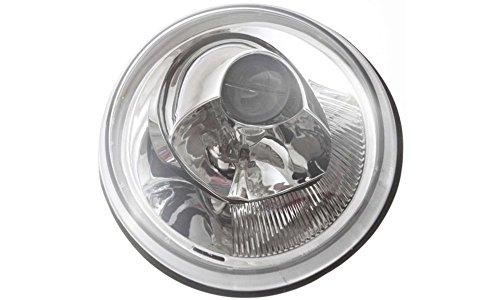 Evan-Fischer EVA13572014321 New Direct Fit Headlight Head Lamp Composite Clear Lens Halogen With Bulb(s) Passenger Side Replaces OE# 1C0941030K and Partslink# VW2503106 (2001 Beetle Headlight Cover compare prices)