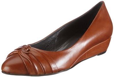Evita Shoes Pumps geschlossen 09BZ311210, Damen Pumps, Braun (hellbraun), EU 38