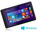 MouseComputer WN801 8型 Windows 8.1 搭載タブレットPC Office Home and Business 2013標準搭載