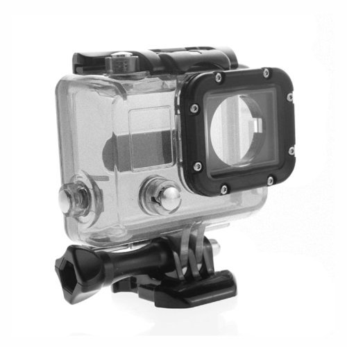 Bluefinger Skeleton Protective Housing For Gopro Hero 3(Without Lens/Without Cable) Open Side For Fpv(Color Silver)