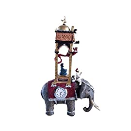 Replica Model: Al-Jazari's 13th Century Elephant Clock