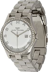 Marc by Marc Jacobs Women's MBM3044 Henry Glitz White Dial Watch