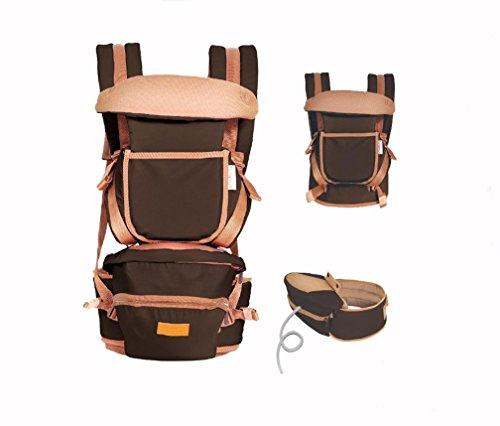 GAOMEIFascia portabebè quattro stagioni lombare sedia multifunzionale cinghie tenere in vita del bambino prima di Sgabello Sgabello , coffee