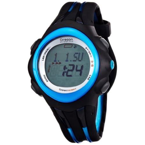 [オレゴン]Oregon 腕時計 アスリートモデル デジタル心拍計 スピード・距離計測 バイブレーション チェストベルト付き ブルー SE300 メンズ 【正規輸入品】