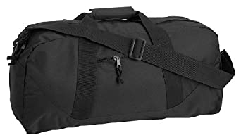 Liberty Bags Large Square Duffel, Black, One Size
