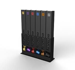 Amazon.com: Tavola Swiss Cap Store Box for 60 Nespresso Capsules