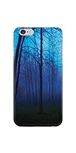 Casenation Blueish Forest iPhone 6 Plus Glossy Case