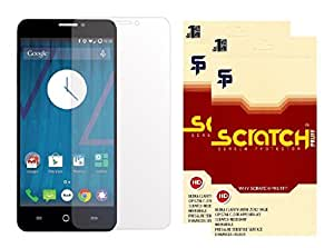 Scratch Pruff Matte Screen Guard For Panasonic P41 Pack Of 2