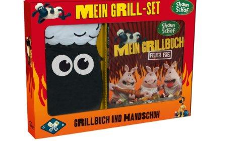 Bruzzler poêle de cuisson et pince à barbecue 31 cm shaun le mouton-mon grillbuch: feu sans crédits