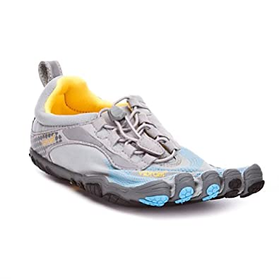 Vibram FiveFingers Womens Bikila LS Athletic Shoes,36 M EU,Grey/Blue/Black