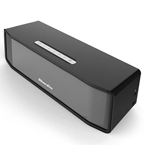 クリスマス Christmas Bluedio BS-2 Camel Series Bluetooth ワイヤレススピーカー 3Dステレオサウンド (ブラック)