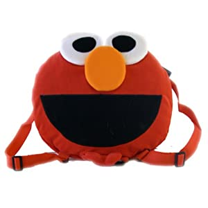 Round Elmo Backpack - Sesame Street Childrens Bag