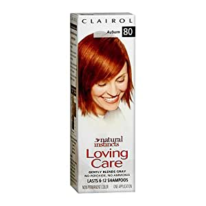 clairol natural instincts loving care hair