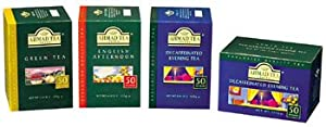 Evening Tea Decaffeinated Ahmad Tea London - Box Of 50 Bags