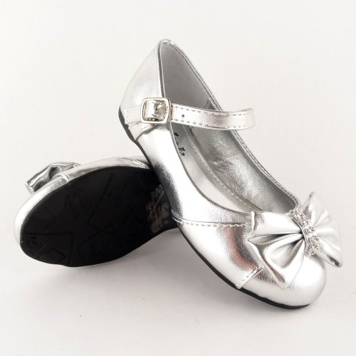 Free shipping BOTH ways on girls silver ballet flats, from our vast selection of styles. Fast delivery, and 24/7/ real-person service with a smile. Click or call