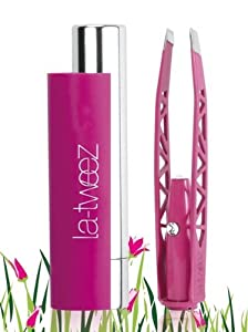 LA TWEEZ PRO ILLUMINATING TWEEZERS PINK