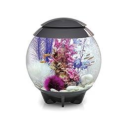 biOrb HALO 30 Aquarium with Moonlight LED Light - 8 Gallon, Grey