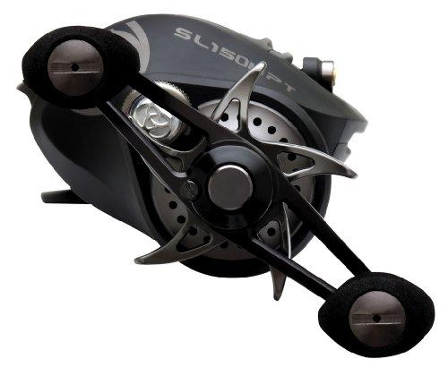 Quantum Fishing Smoke SS 7.3:1 PT Right Hand Baitcast Fishing Reel (Size 150)