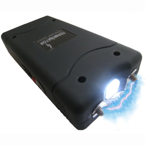 Terminator 15,000,000 V Stun Gun With Led Flashlight