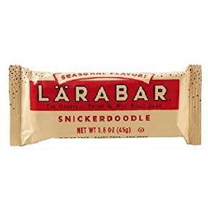 Larabar Lara Snickerdoodle Bar 1.6 oz (Pack Of 16)