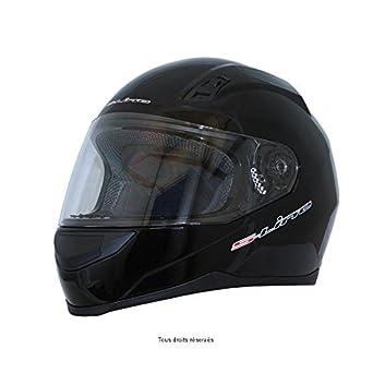 S-LINE - Intégral S400 Noir Brillant XL Intégral Adulte