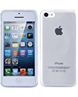 TeckNet® Apple iPhone 5C Slim Soft Gel Cover Case for Apple New iPhone 5 C With Screen Protectors