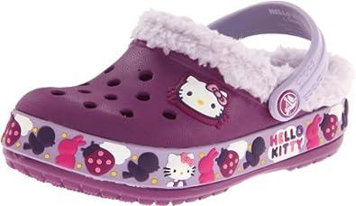 Crocs Mammoth Hk Birds & Bunnies Clog (Toddler/Little Kid/Big Kid),Viola/Lavender,12 M US Little Kid