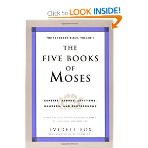 Amazon.com: The Five Books of Moses: Genesis, Exodus, Leviticus ...