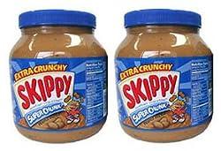 お得サイズ! SKIPPY ピーナッツバター粒ありチャンキー2個セット