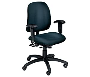 HeavyDuty Fabric Ergonomic Chair With Arms Office Products