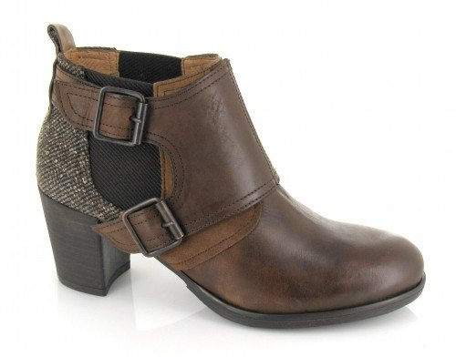 Hispanitas, Scarpe col tacco donna Marrone Brandy-crosta cuero