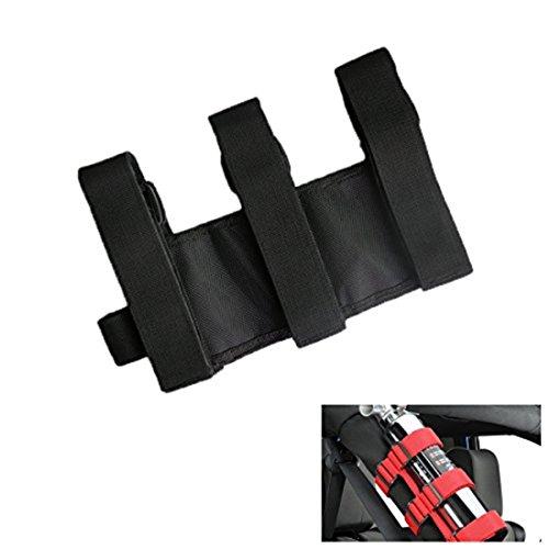 Black-Menba-Off-Road-SUV-Black-Roll-Bar-Holder-for-3-Lbs-Fire-Extinguisher-1-black-holder