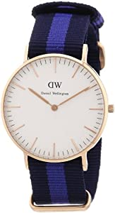 Daniel Wellington Classic Swansea Rosxe9 Gold Womenxb4s 36mm Round Case