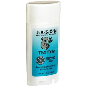 JASON Natural Tea Tree Deodorant Stick Deodorants And Antiperspirants