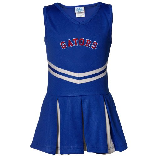 NCAA Florida Gators Youth Girls Royal Blue Cheerleader Dress (Medium) at Amazon.com